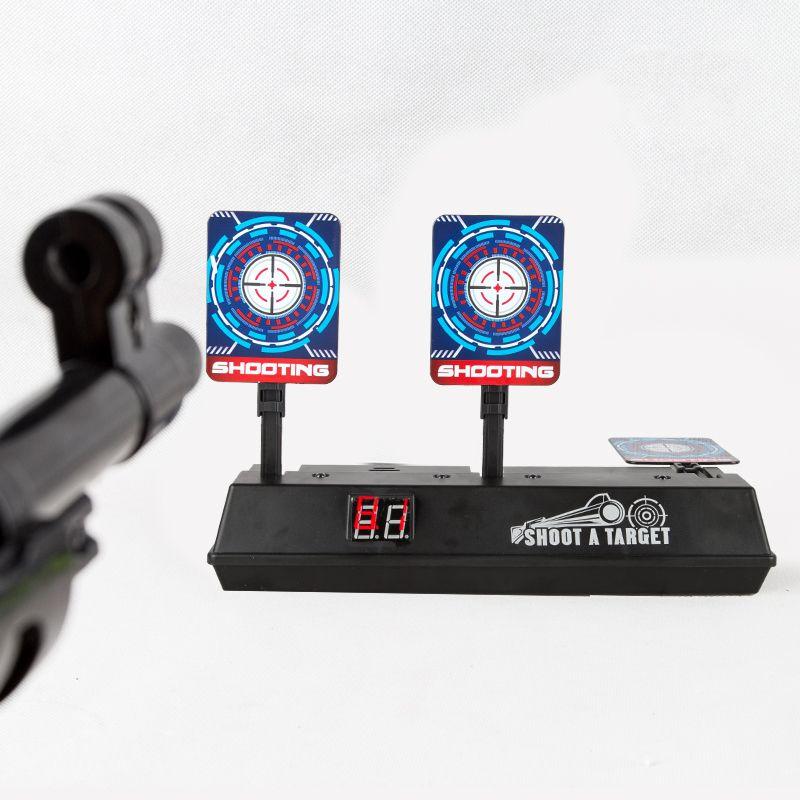DIY High Precision Scoring Auto Reset Electric Target for Gun Toys for Blaster Gel Beads Blaster Gun Toy Parts