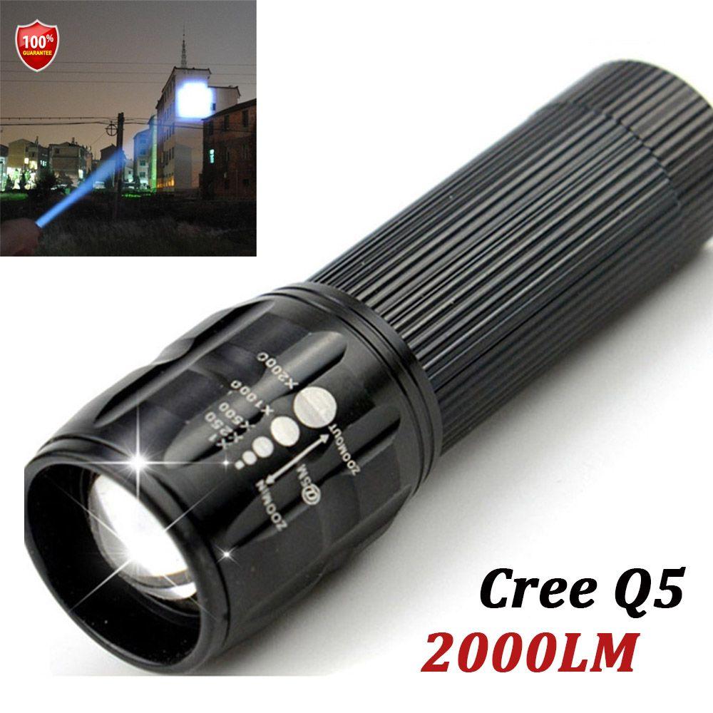 1 шт. Lanterna высокое качество бренда Портативный светодиодный фонарик 3 АА батареи тактический фонарь Факел CREE Penlight Бесплатная доставка
