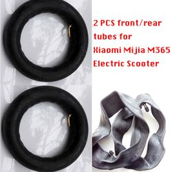 2 Pcs Tires for Xiaomi Mijia M365 Electric Scooter 8 1/2x2 Inner Tubes Pneumatic Tires Upgraded Durable Thick Wheel Solid Tyre