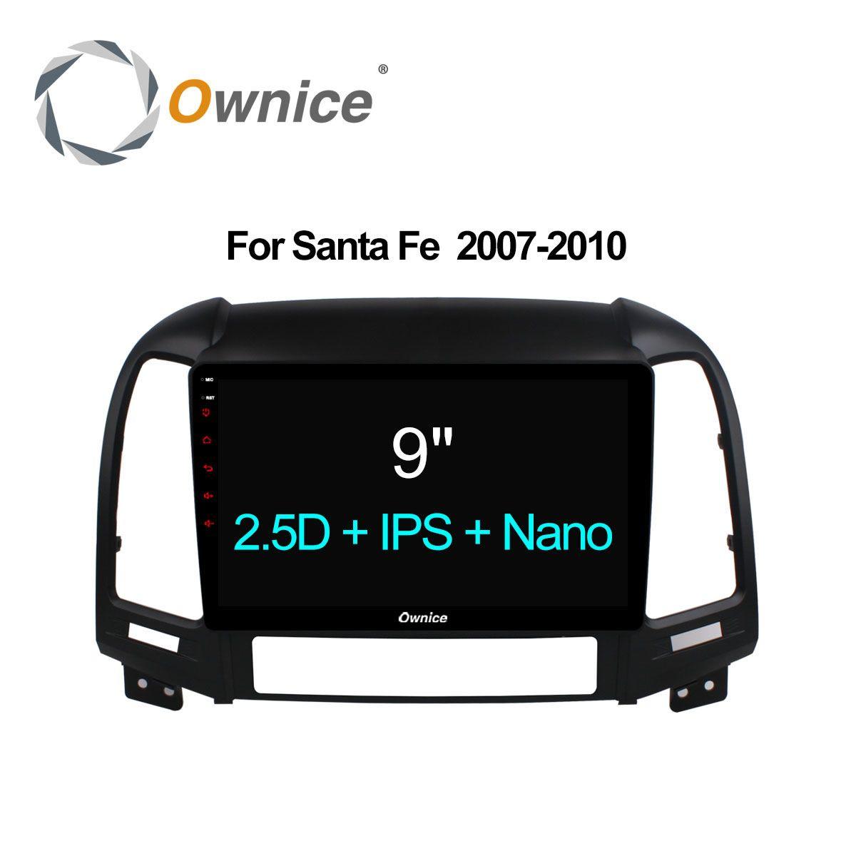 Ownice C500+ Octa Core 2.5D IPS Android Car DVD for Hyundai Santa Fe 2007 - 2010 Radio Navigation gps player 32G+2G 4G SIM LTE