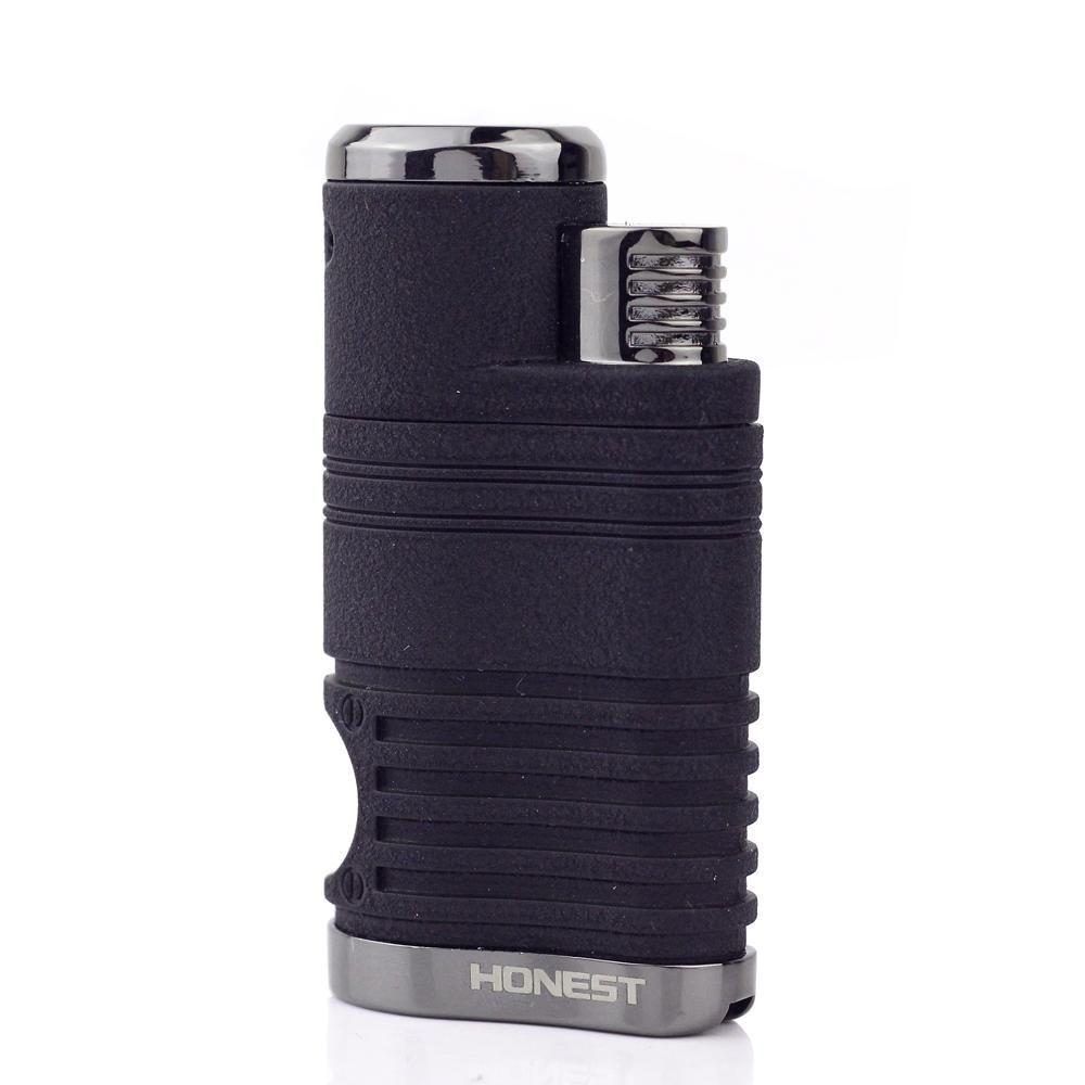 Vente chaude Briquet Torche Quadruple Coupe-Vent Cigarette Allume-cigare W/Cigare Poinçon DX-1