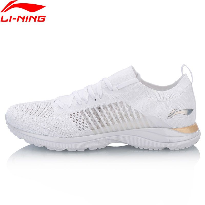 Li-Ning Women Super Light XV Running Shoes LiNing Cloud Lite Sneakers Woven Sock Breathable Comfort Sport Shoes ARBN016 XYP653