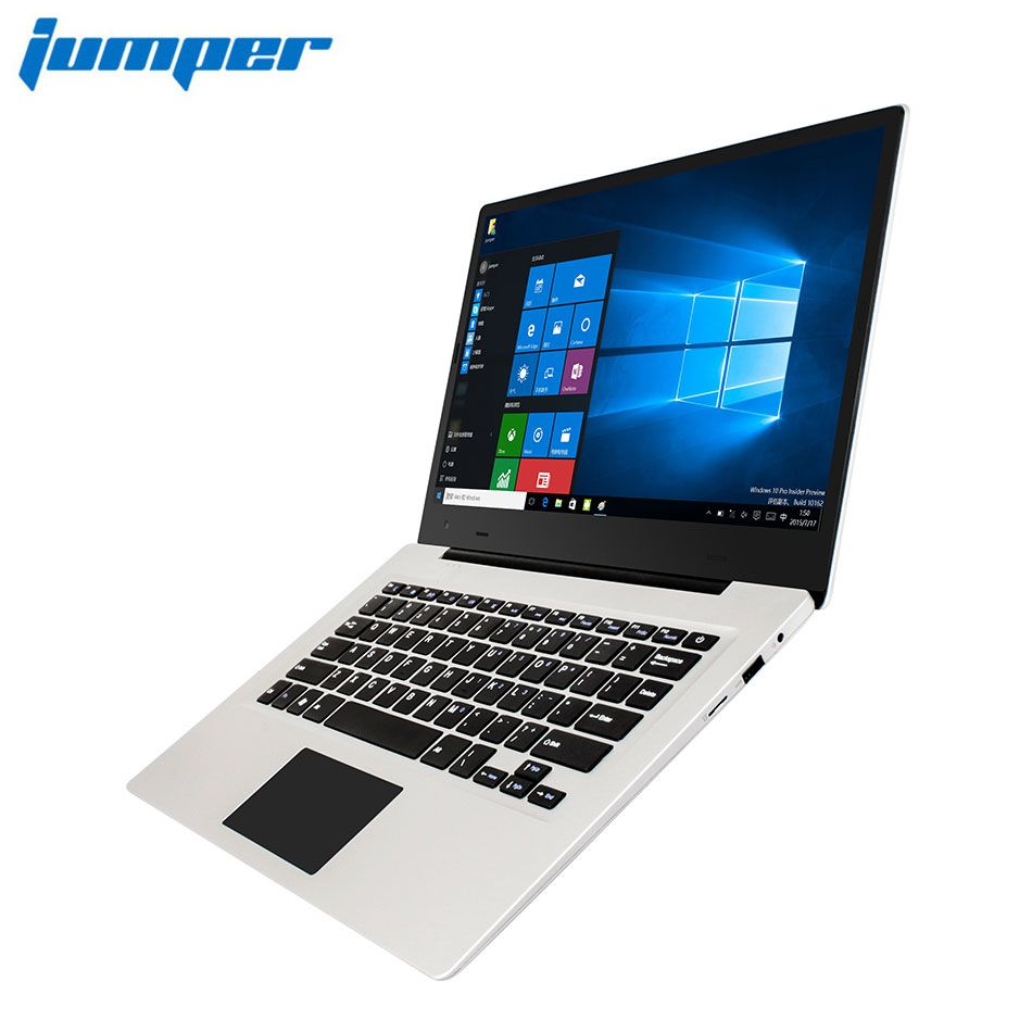 Jumper EZBOOK 3 S laptop 14 zoll 6 GB DDR3L RAM 256 GB SSD Lagerung Intel Apollo See N3450 1080 P Screen Notebook Windows10 computer