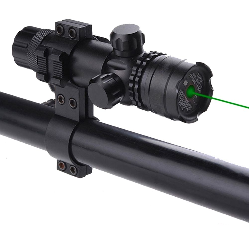 Green Laser Point Aim Sight Scope Tactical With Mount Airsoft Hunting Shooting for Pistol Rail and Rifle 11mm 20mm