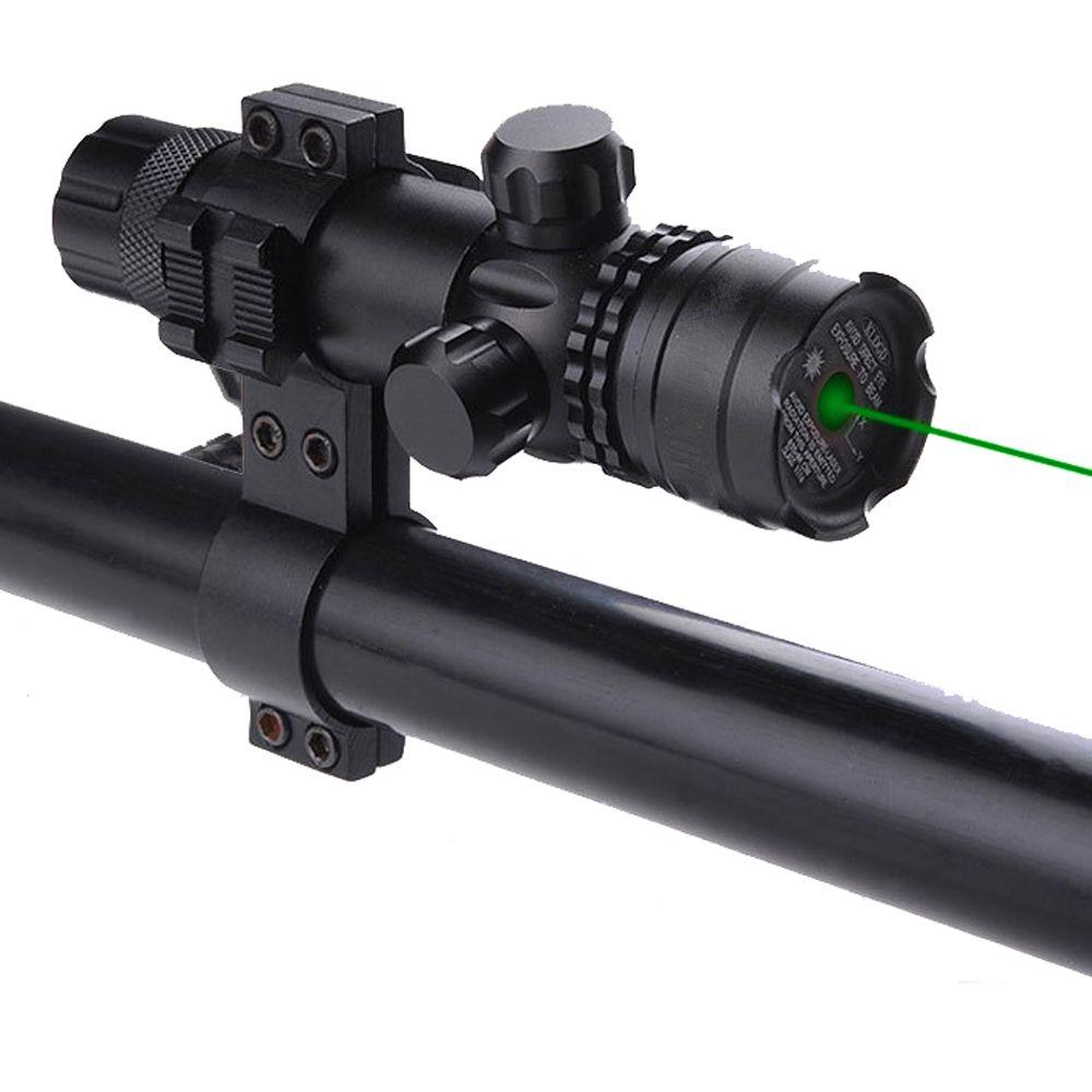 Portée de visée de visée de Point Laser vert tactique avec le tir de chasse d'airsoft de bâti pour le Rail de pistolet et le fusil 11mm 20mm