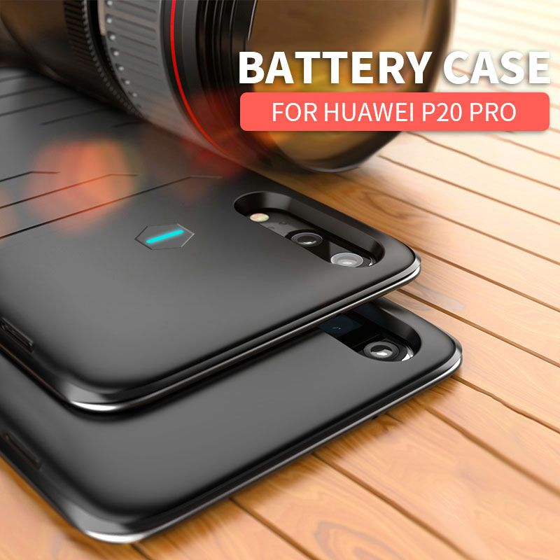 Topzero 8200mah Ultra thin Power bank Case For Huawei P20 Pro Portable Fast Battery Charger Phone Case For Huawei P 20 Pro Cover