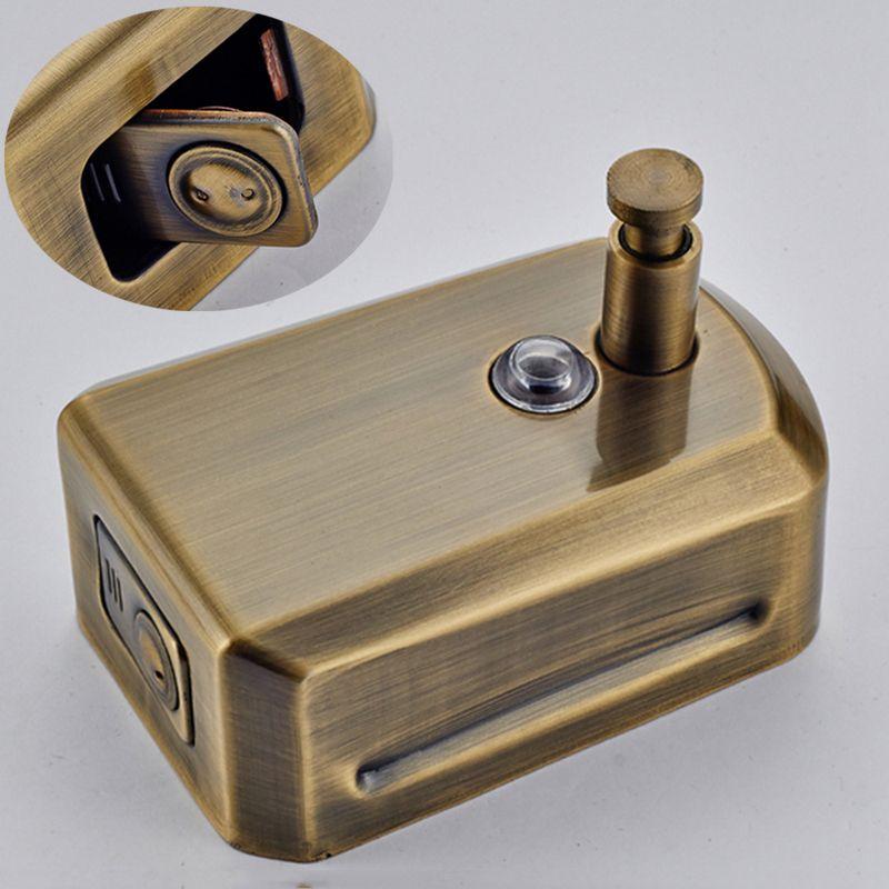Uythner Modern Wall Mounted Soap Dispenser Antique Brass Soap Dispenser Free Shiping 800ml