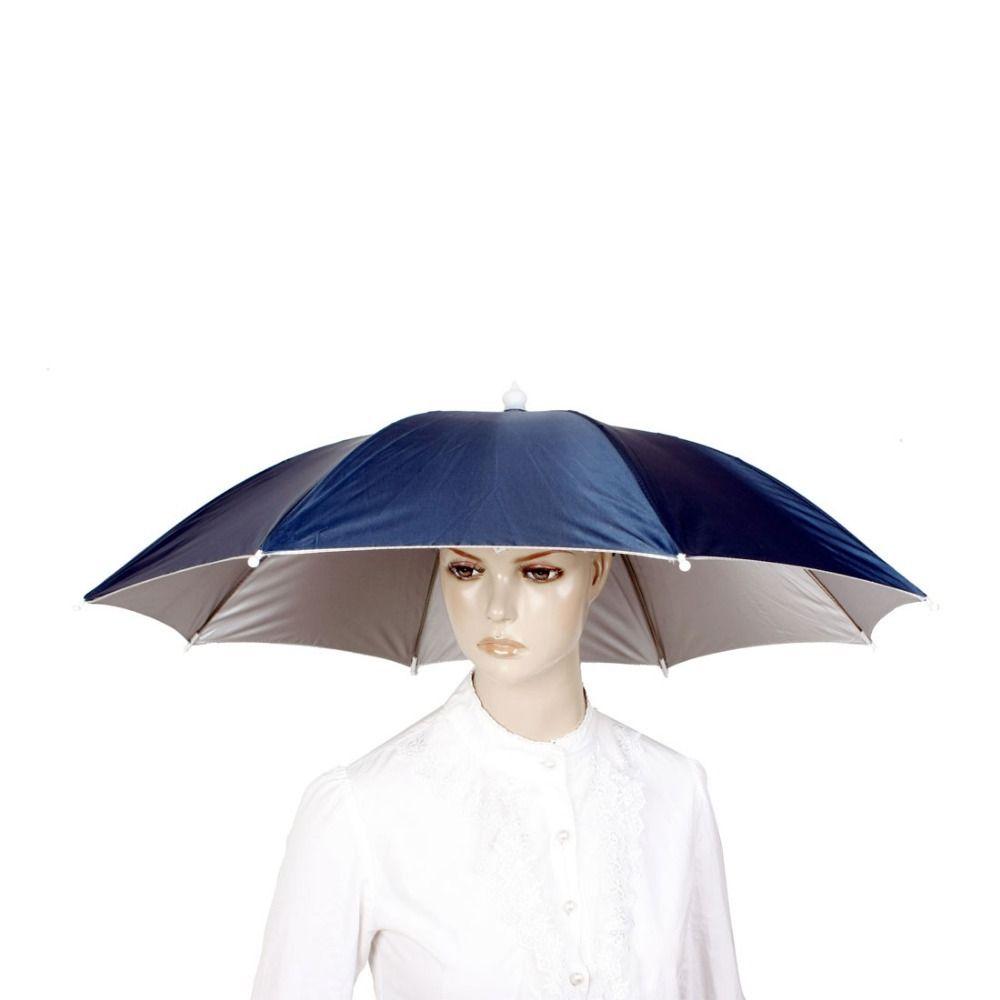 En plein air grand Camouflage cyclisme pêche randonnée plage Camping tête parapluie femmes hommes enfants 8 acier côtes soleil pluie parapluies chapeau casquette
