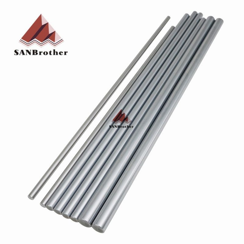 1Set Ultimaker 2 Extended+ UM2+ Smooth Rod Smooth Rod Sets OD6mm 8mm 12mm 3D Printer XYZ Axis Chrome Plate