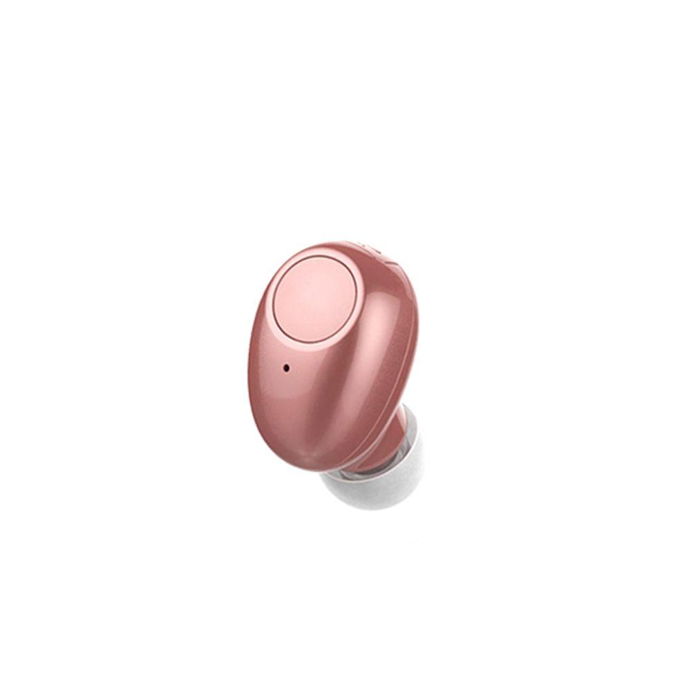 NVAHVA sans fil Bluetooth écouteur 10 heures de musique, Bluetooth écouteurs casque mains libres pour iPhone Android téléphone intelligent conduite