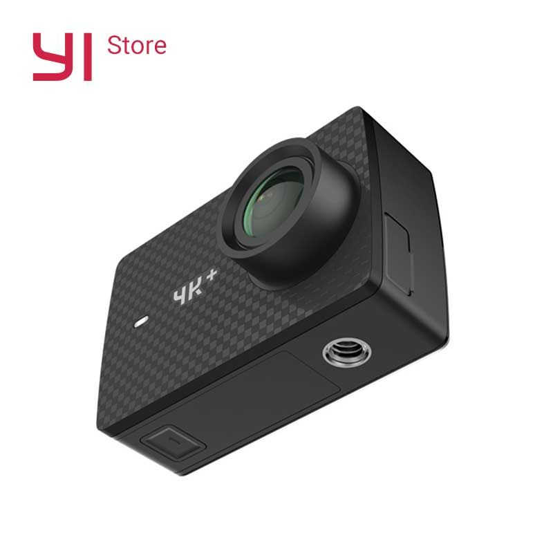 YI 4K+(Plus) Action Camera International Edition Sports FIRST 4K/60fps Amba H2 SOC Cortex-A53 IMX377 12MP CMOS 2.2