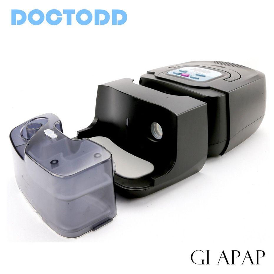 Doctodd GI APAP Auto CPAP GI APAP Maschine für Schlaf Schnarchen und Apnea Therapie APAP Mit Luftbefeuchter Nasenmaske Schläuche und Tasche
