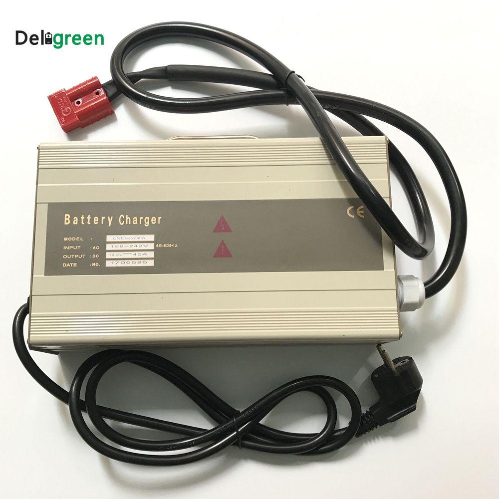48 v 20A 25A Smart Tragbare Ladegerät für Elektrische gabelstapler, golf warenkorb für 16 s 58,4 v Lifepo4 15 s 63 v LiNCM blei säure batterie
