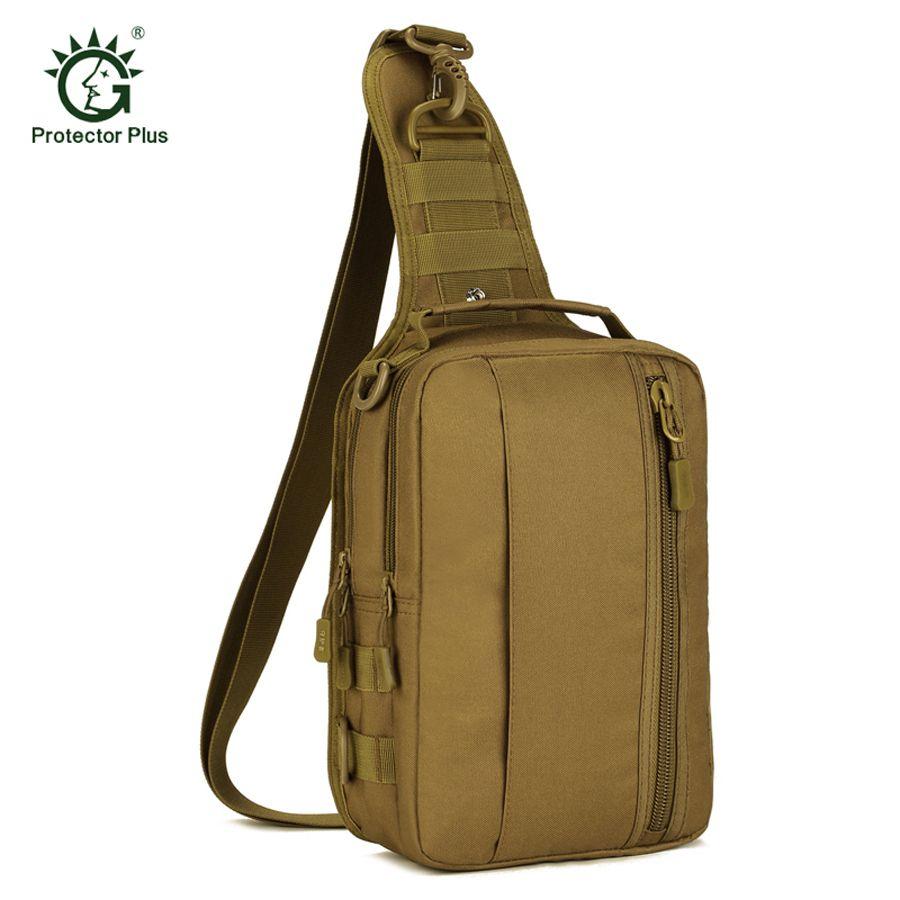 Hommes étanche 1000D Nylon tactique militaire voyage sac à dos en plein air Trekking haute capacité épaule Messenger poitrine iPad sac