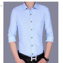 2017 nouveau arrivent Hommes 95% cotten chemises multiples options de couleurs de mode vêtements chemises pour Homme