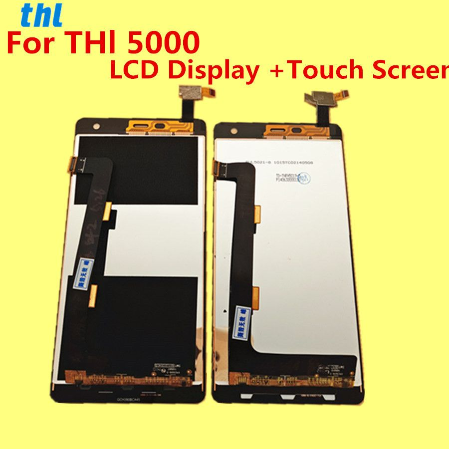 FOR THL 5000 LCD Display +Touch Screen +Tools Digitizer Assembly Replacement Accessories For Phone
