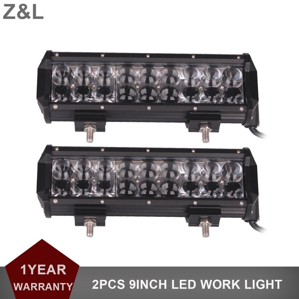 9 Inch 90 W Offroad LED barre lumineuse de travail Combo camion remorque SUV bateau pick-up 4WD 4X4 ATV UTV 12 V 24 V Wagon moto Auto phare
