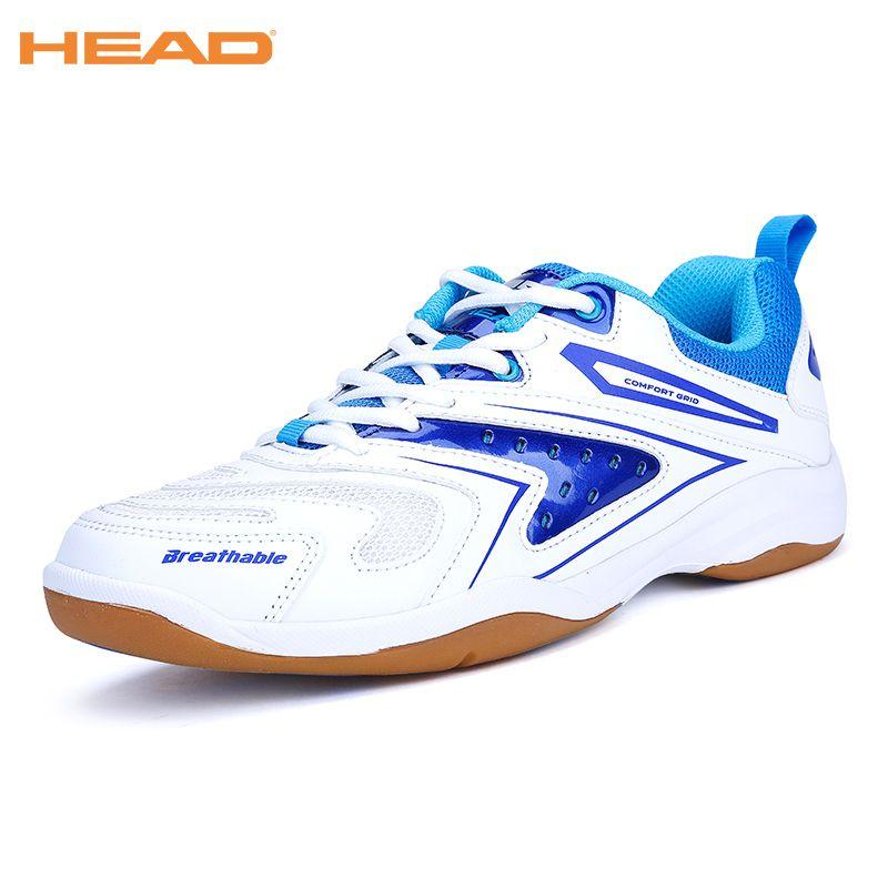 HEAD Men's Professional Badminton Sport Shoes Brand Tennis Shoes Shock-Absorbant Training Sneakers Badminton Shoes For Men