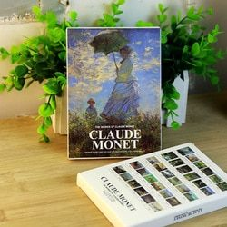 30 feuilles/LOT Claude Monet Peinture À L'huile Carte Postale vintage Claude Monet Peintures cartes postales/Carte De Voeux/Carte De souhaits/Cadeau de mode