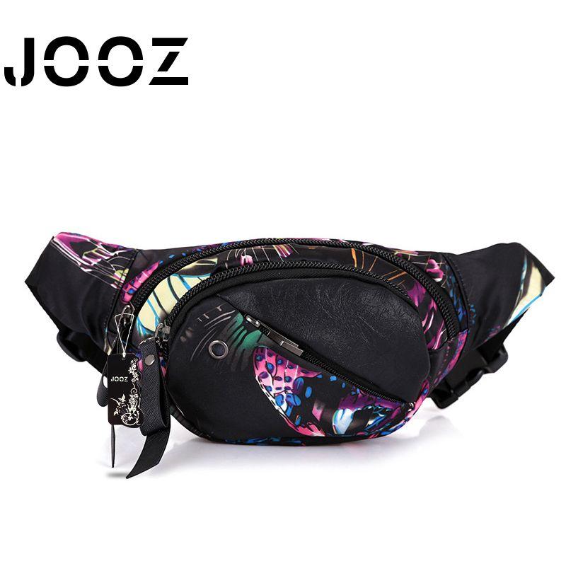 JOOZ Marke Taille Packs Bolsos Mujer Damen Schöne Blume Muster farbe Mädchen Geschenk Frau Geldbörse Handytasche Taille tasche