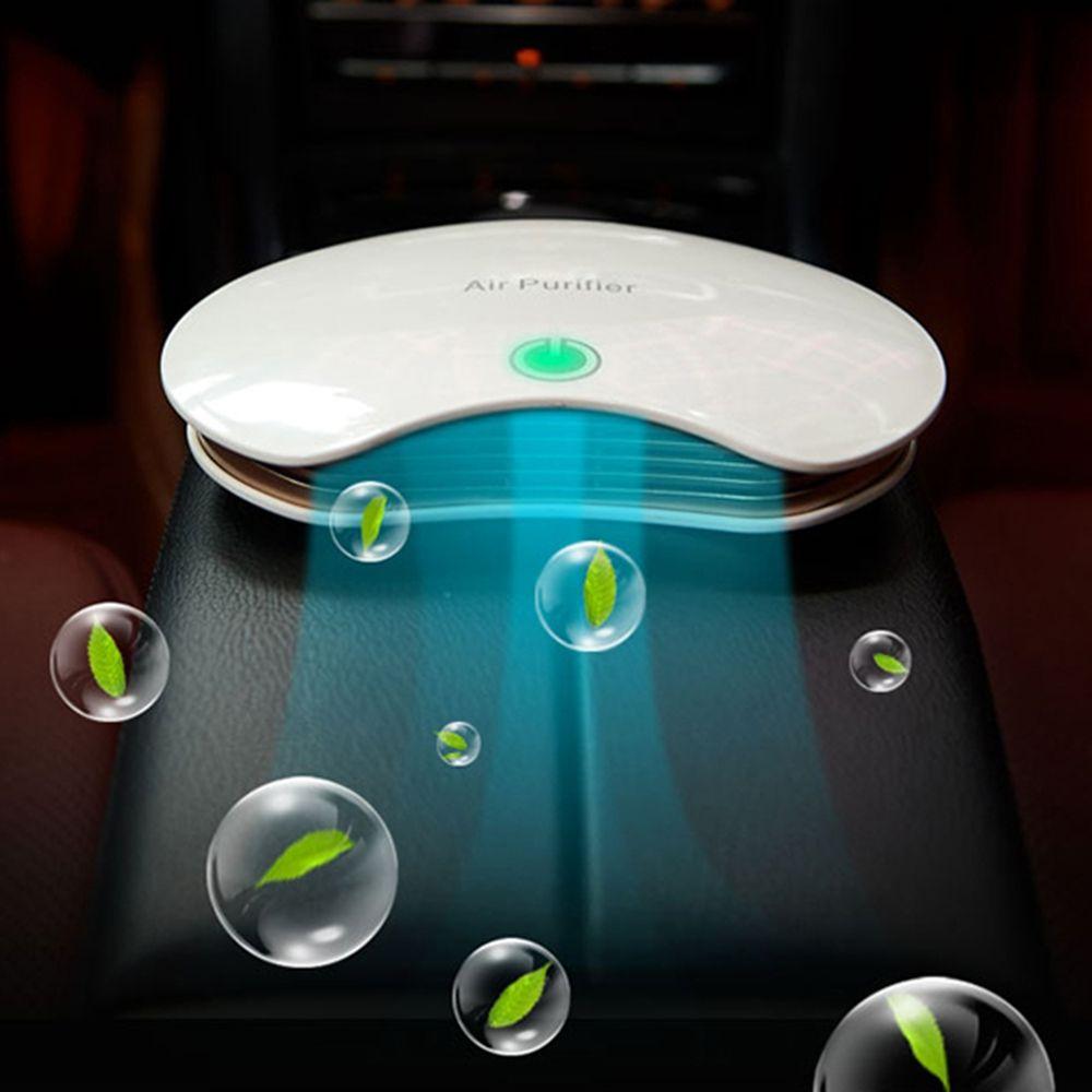 PM2.5 Formaldehyd Geruch Entfernung Anion Auto Luft Ionisator Haushalt Sterilisieren Auto Luftreiniger mit Auto Lufterfrischer Zubehör