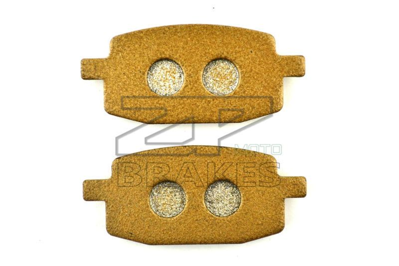 NEW Organic Brake Pads For Front ADLY 50 Cosy 2001-2006 RT 50 Road Tracer 2002-20006 25 Silver Fox 2000- City Bird - RBAKING OEM