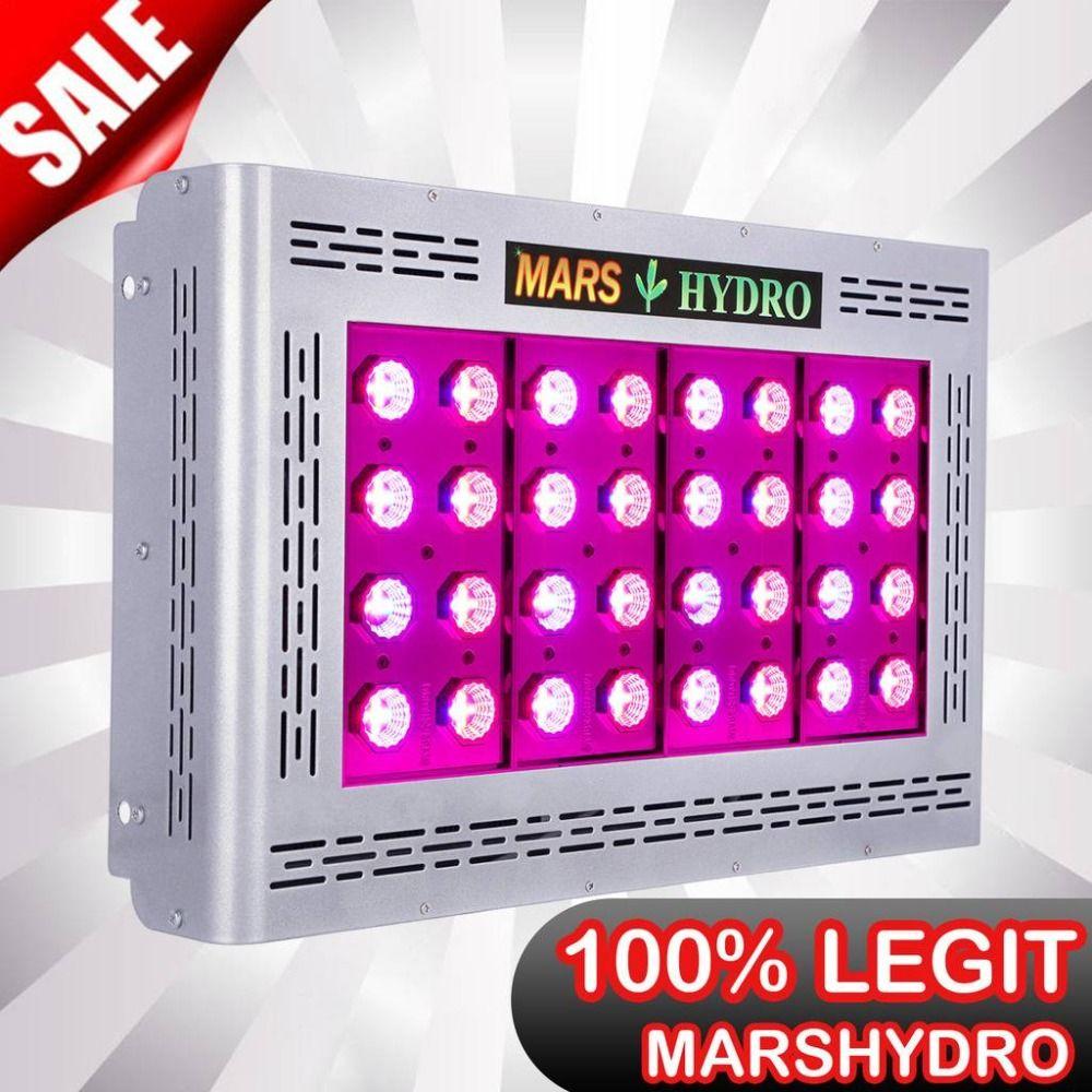Mars Pro II Epistar 800W LED Grow Light Full Spectrum Best for Hydro Plant Veg Flower 386W
