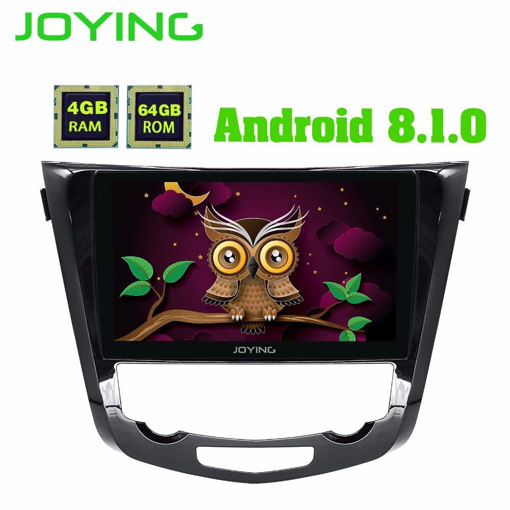 joying 4GB RAM Android 8.0 2 din Car Radio Navigation GPS Player for Nissan X-Trail 2014+ Support Rear View camera/Carplay/SWC