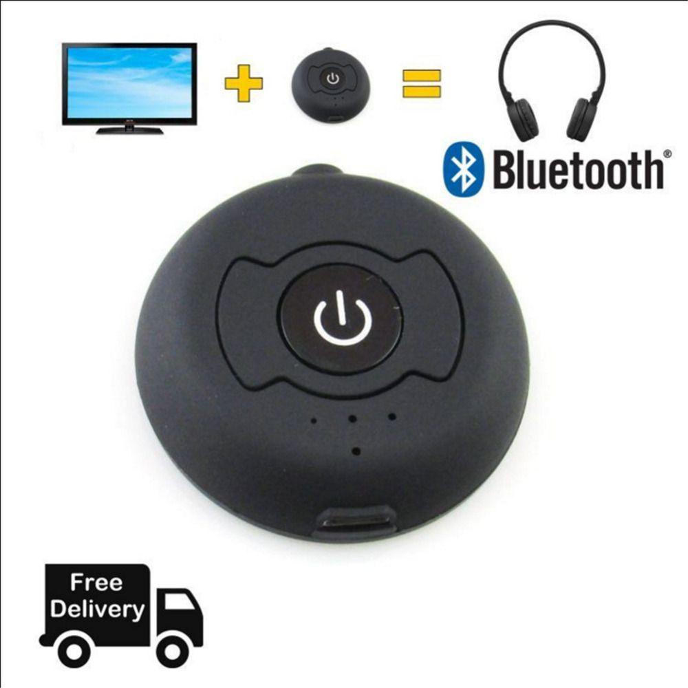 Bluetooth Музыка передатчик аудио 4.0 h366t Беспроводной Адаптер 3.5 мм Jack ТВ стерео отправить аудио сигнал на приемник через Bluetooth