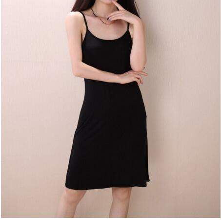 2018 new Women's Full Slips Femme Black Underskirt Women Sexy Petticoat Ladies Underdress Female Lingerier Woman Slip