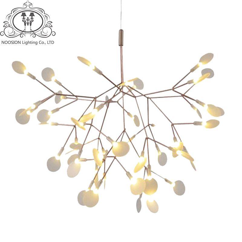 TZ Modern Pendant Lights LED Decoration Lamp Branch Tree Fireflys Loft Designer Hanglamp For Dining Bedroom Pendente iluminacao