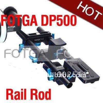FOTGA DP500 DSLR Железнодорожный Род Поддержка Системы 15 мм для фоллоу-фокус 5D II 7D 600D D7000