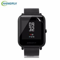 HANGRUI 3Pcs/lot TPU Screen Protector Soft Film for Xiaomi Huami Amazfit Bip BIT PACE Lite Smart Watch Explosion-proof films