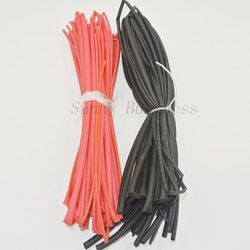 10 mètre/lot Gaine Thermorétractable Tube Gaine Thermorétractable Gaines Kit Rouge Noir Couleur 1.5mm 2mm 3mm 4mm 5mm