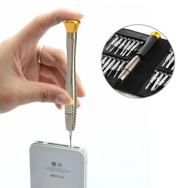 Hot Sale 25 in 1 Precision Screwdriver Set Wallet Repair Tool Sets Multi Tools For Electronics PC Laptop Cellphone
