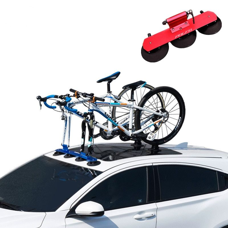 Bicycle Rack Roof-Top Suction Bike Car Rack Carrier Quick Installation Sucker Roof Rack For MTB Mountain Road Bike