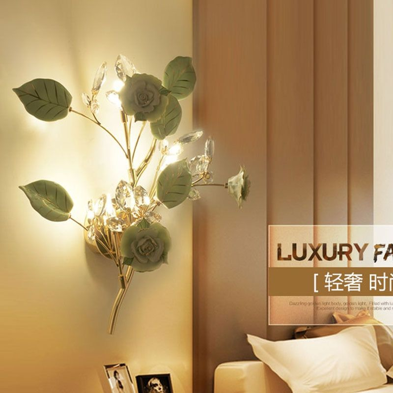 Creative Wall Lamps Bedside Modern Wall Lights for Living Room Decoration Aisle Classic Wall Lights for Bedroom Wall Lighting