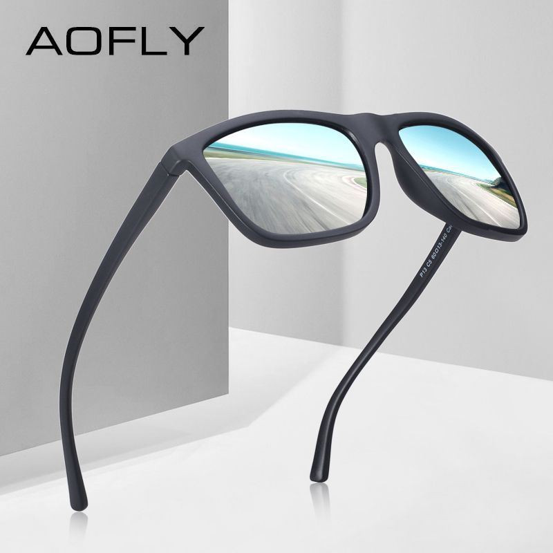 AOFLY BRAND DESIGN Polarized Sunglasses Men Male Cool Sunglasses for <font><b>Driving</b></font> TR90 Goggles Eyewear Gafas De Sol UV400 AF8088