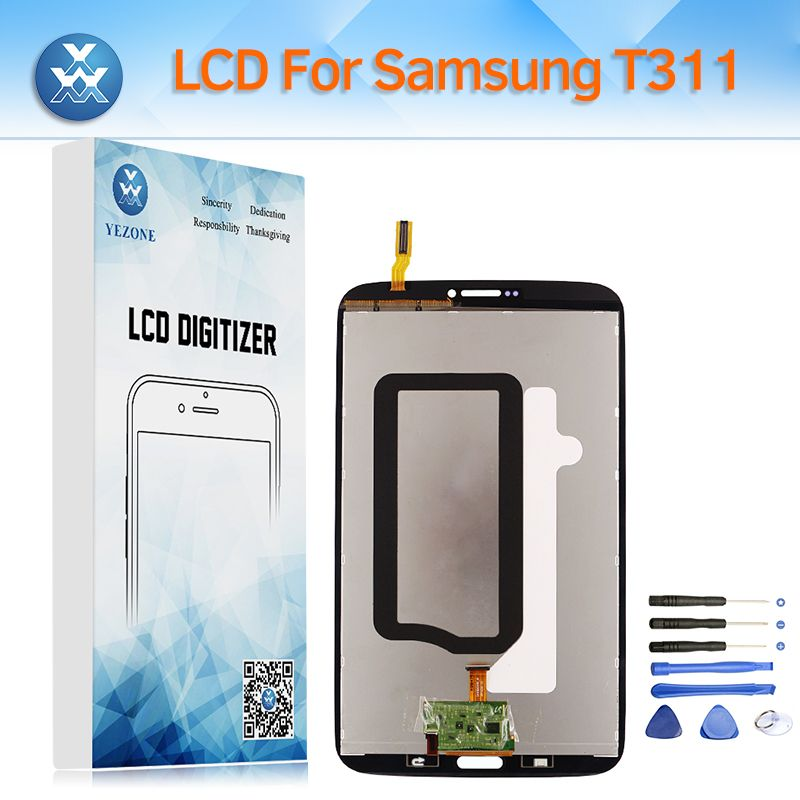LCD for Samsung Galaxy Tab 3 T310 T311 T315 LCD Display Touch Screen Digitizer Assembly Replacement 8 Inch Pantalla+Tools