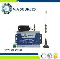 RTU5023 + 1 M Detector Pengiriman GSM Pemantauan Suhu SMS Power Lingkungan Kelembaban Alarm Android App Remote Control