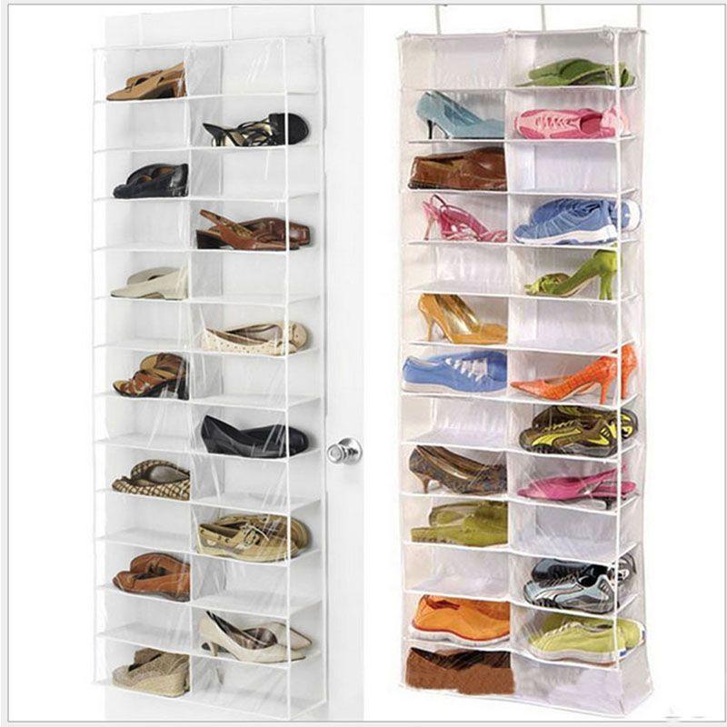 NK gozip над дверью висит органайзер для хранения обуви держатель сортировщик для 26 пар Обувь вешалка для хранения Организатор