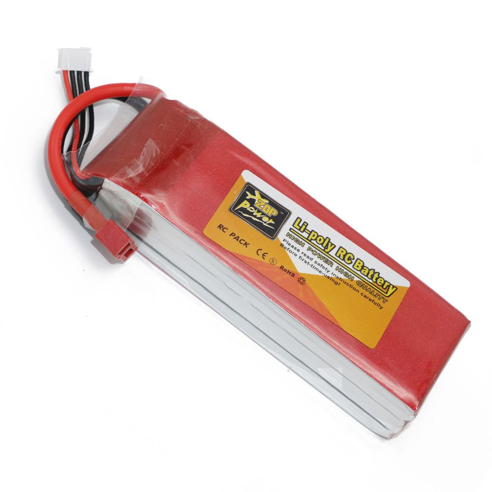 1pcs Zop Power lipo battery 11.1V 5000mAh 3S 30C LiPo Li-poly Battery