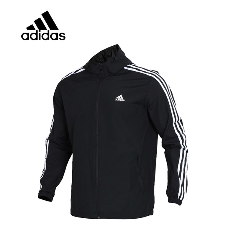 Original Adidas WB MESH BOND 3S Men's Running Jacket New Arrival Authentic Sportswear Male Coat Windbreaker Breathable Leisure