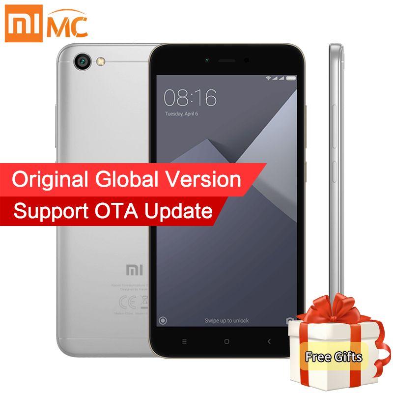 Global Version Xiaomi Redmi Note 5A Note5A MIUI 9 Mobile Phones 2GB 16GB Snapdragon 425 Quad Core 5.5