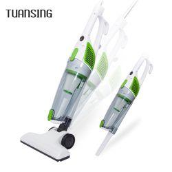 Tuansing nuevo Mini Ultra silencioso aspirador de mano hogar resistencia colector de polvo Home aspirador 600 W UE enchufe
