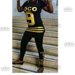 2017 Nouveau Mode Africaine Imprimer Grand élastique Bazin Rock Style Dashiki Sexy Sport Costume Pour