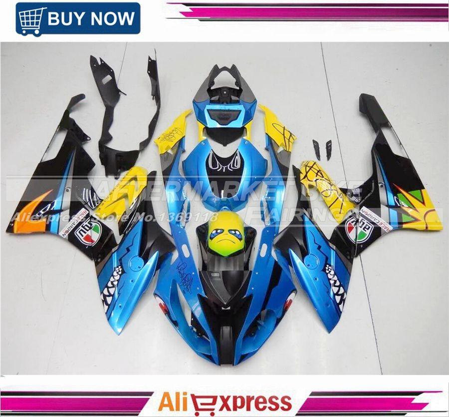 Neue Ankunft Custom Design Schema S1000RR 2015 Verkleidung Körper Für S1000 RR 2016 Karosserie Kits