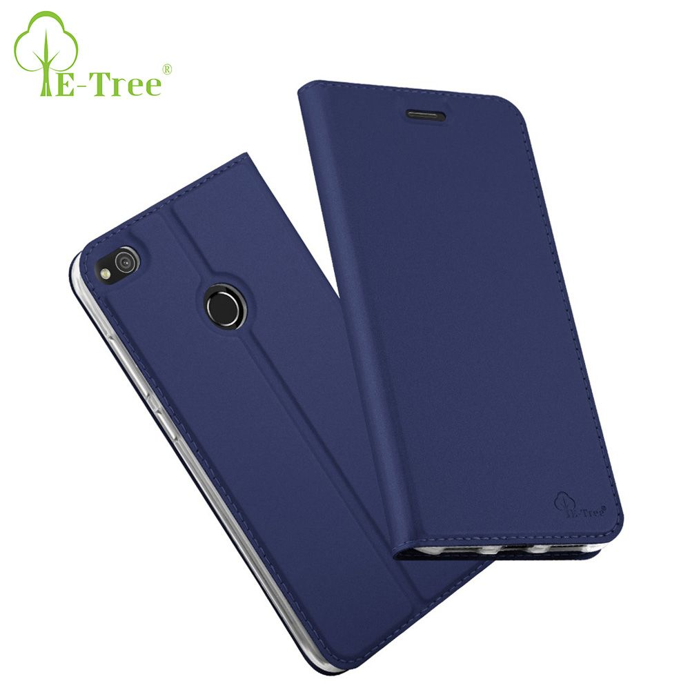 E-Baum Marke flip luxus haut pu ultra thin ledertasche für huawei p8 lite 2017 telefon fall für huawei p8 lite 2017 abdeckung