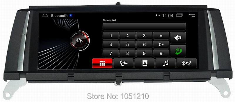 Ouchuangbo android 4.4 car stereo radio multimedia for X3 F25 2010-2012 support car play BT AUx USB quad core
