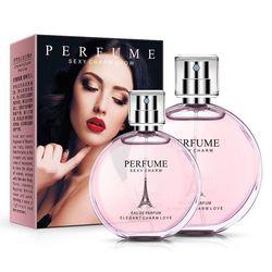 50 ml francés mujer Eau de perfumes spray para sexy mujeres fragancias Cuerpo sudor antitranspirante líquido feromonas en aerosol